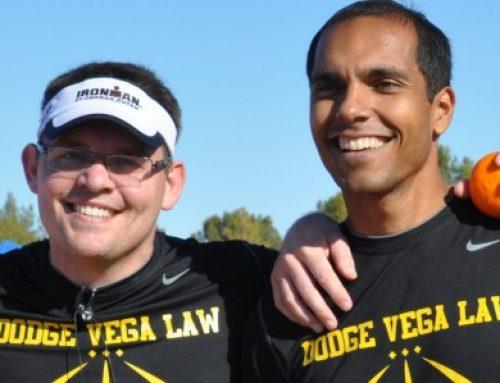 Team Dodge Vega at Londons Run 2012 Charity Run